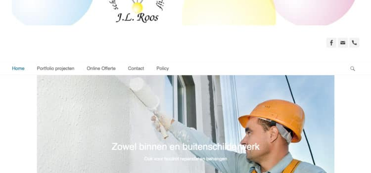 Schilders & afwerkingsbedrijf J.L. Roos